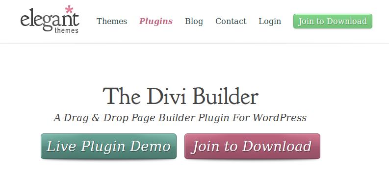 Divi Builder banner