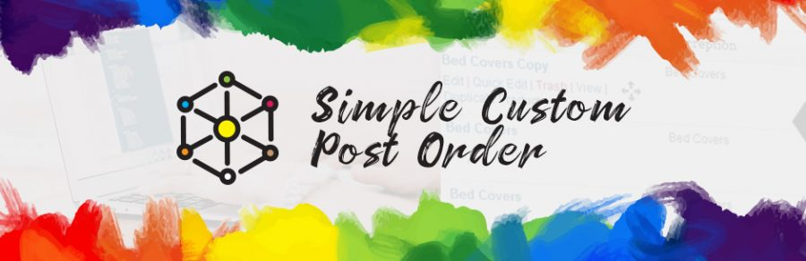 Simple Custom Post Order banner
